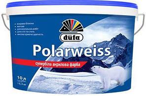 Краска DUFA Polarweiss D605  супер-белая (10л.)