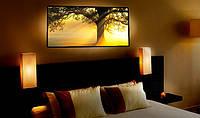 """Светодиодная картина """"Дерево и рассвет"""""""