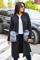 Легкое пальто в расцветках БАТ 497 (8004)