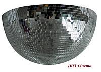 Зеркальная полусфера 110 см диаметр для диско клуба кафе бара ресторана