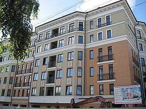 """Фасадные работы, отделка фасада жилого комплекса """"На Бакулина"""" 3"""