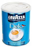 Кофе молотый жб Lavazza DEK  без кофеина 250 гр