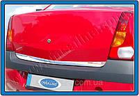 Накладка на дверь багажника Dacia/Renault Logan (2004-2008)