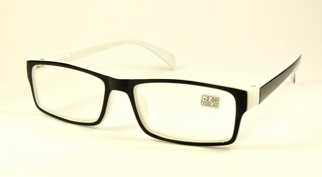 Очки черно-белые оптом (ZY 11051)