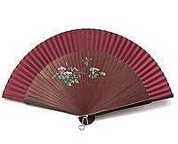 Дамский веер из бамбука