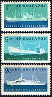 Болгария 1962 - корабли - MNH XF