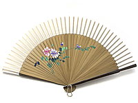 Веер бамбуковый с шелком
