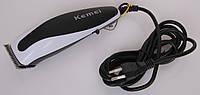 Kemei 0851 – машинка для стрижки, бесшумный профессиональный инструмент с двумя насадками-лезвиями DJV /03-7