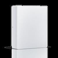 Светодиодный накладной светильник MAXUS 24W квадрат 3000К теплый свет (1-LCL-005-06-S)