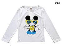 Кофта Mickey Mouse унисекс. 100, 110, 120 см