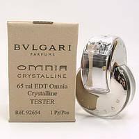 Женская туалетная вода Bvlgari Omnia Crystalline for Women Eau de Toilette (EDT) 65ml, Тестер (Tester), фото 1