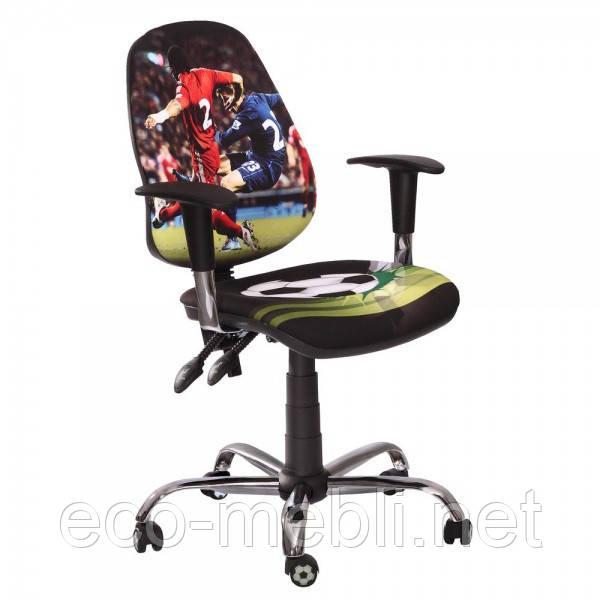 Дитяче поворотне крісло дитяче Футбол Люкс