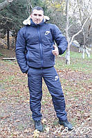 Мужской зимний костюм на синтепоне
