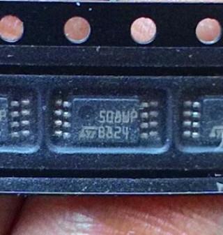 Мікросхема 508WP M95080-WDW6TP MSOP8