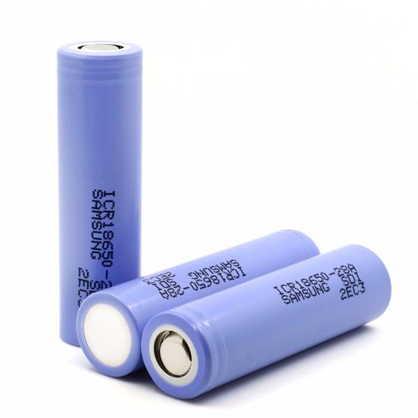 Аккумулятор Samsung ICR18650-28А оригинал Li-ion 18650 3.7 В 2800 мАч