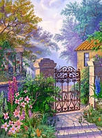"""Набор для вишивки нитками и бисером """"Утро в саду"""""""