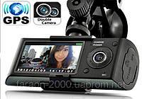 Автомобильный видеорегистратор X3000 GPS, G-SENSOR