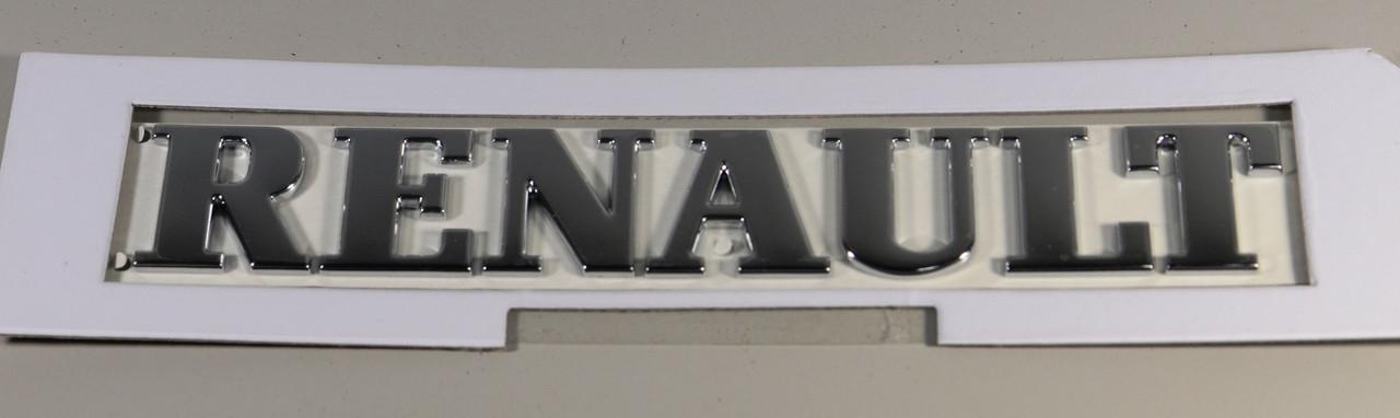 """Напис """"RENAULT"""" (задні двері) на Renault Trafic 2001-> — RENAULT (Оригінал) - 8200112595"""