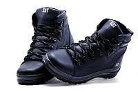 Мужские зимние кожаные ботинки CAT, фото 1