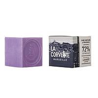 Мыло прованс, куб, коробка LAVANDE / Лаванда, 200 г, фото 1