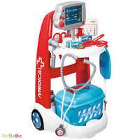 Игровой набор Smoby Тележка врача 340202
