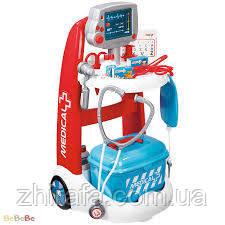 """Игровой набор Smoby Тележка врача 340202 - Интернет-магазин детских товаров """"Жирафа"""" в Одессе"""
