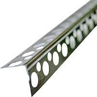Уголок алюминиевый перфорированный