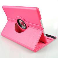 Кожаный чехол-книжка TTX (360 градусов) для Apple Ipad Air (Розовый )