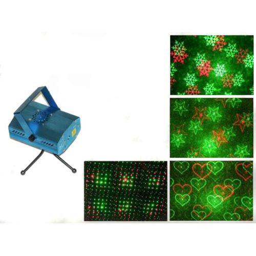 """Мини лазерный проектор стробоскоп лазер шоу 4 в 1 - Интернет-магазин """"Lite Shop"""" в Днепре"""