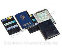 Обложка для паспорта / обложка для документов | Под заказ с логотипом