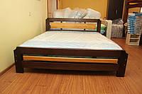 Кровать двуспальная с вставкой
