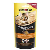 Gimcat Crispybits Multivitamin лакомство для укрепления иммунитета и улучшения самочувствия кошки, 40г