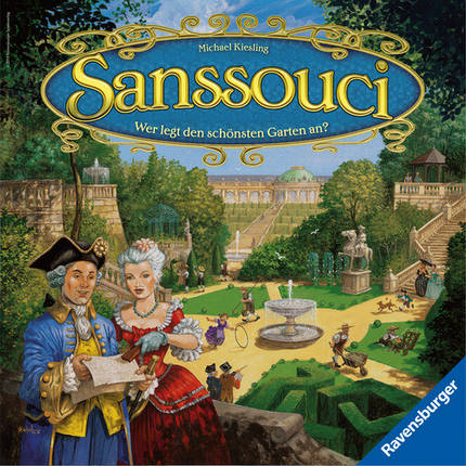 Настольная игра Sanssouci (Сан-Суси), фото 2