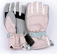 Перчатки горнолыжные женские HEAD зимние в полоску
