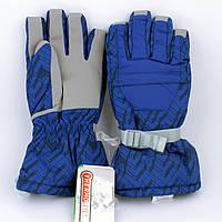Перчатки горнолыжные женские Jassen зимние синие