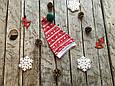 "Шапочка  ""Новогодняя Скандинавия"" от 0 до 9 мес., фото 3"