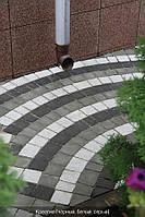 """Тротуарная плитка """"Золотой мандарин"""" """"Креатив"""" 6 см, белая"""