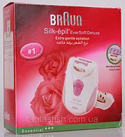 BRAUN silk epil 2370 –  эпилятор с экстра мягкой эпиляцией + дополнит. насадка, эргономичный дизайн DJV