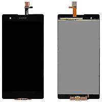 Дисплей для Sony D5303 Xperia T2 Ultra/D5322 + touchscreen, чёрный