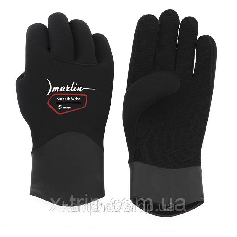 Лучшие перчатки для подводной охоты Marlin Smooth Wrist Duratex 5 мм