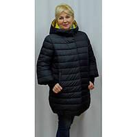 Пальто большого размера на синтепоне Vidni 16-1603-KS скидка