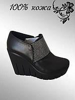 Туфли на платформе   1-122