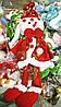 Новогодняя Мягкая Игрушка на Елку Снеговик 25 см Атмосфера Нового Года Рождества