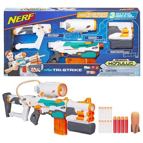 """Бластер НЁРФ Модулус """"Три-Страйк"""" Nerf Modulus Tri-Strike Blaster HASBRO"""