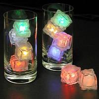 Светящийся лед с цветной подсветкой