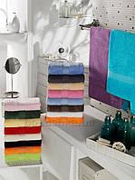 Махровое полотенце Arya Miranda 100х150 см голубой