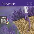Календарь настенный на 2017 год. Provence