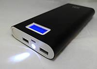 Алюминиевый MI Power Bank  Smart  28800mAh - портативное зарядное устройство, фонарь, вешняя батарея