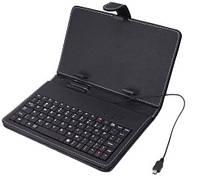 Чехол с клавиатурой для планшета 7 дюймов Black (micro Usb) ЧЕРНЫЙ SKU0000449