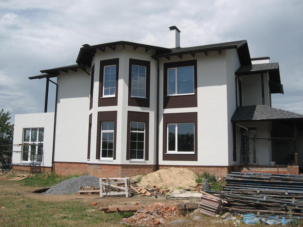 Утепление фасада частного дома минватой